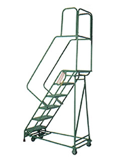 RolaStair Folding Rolling Ladder