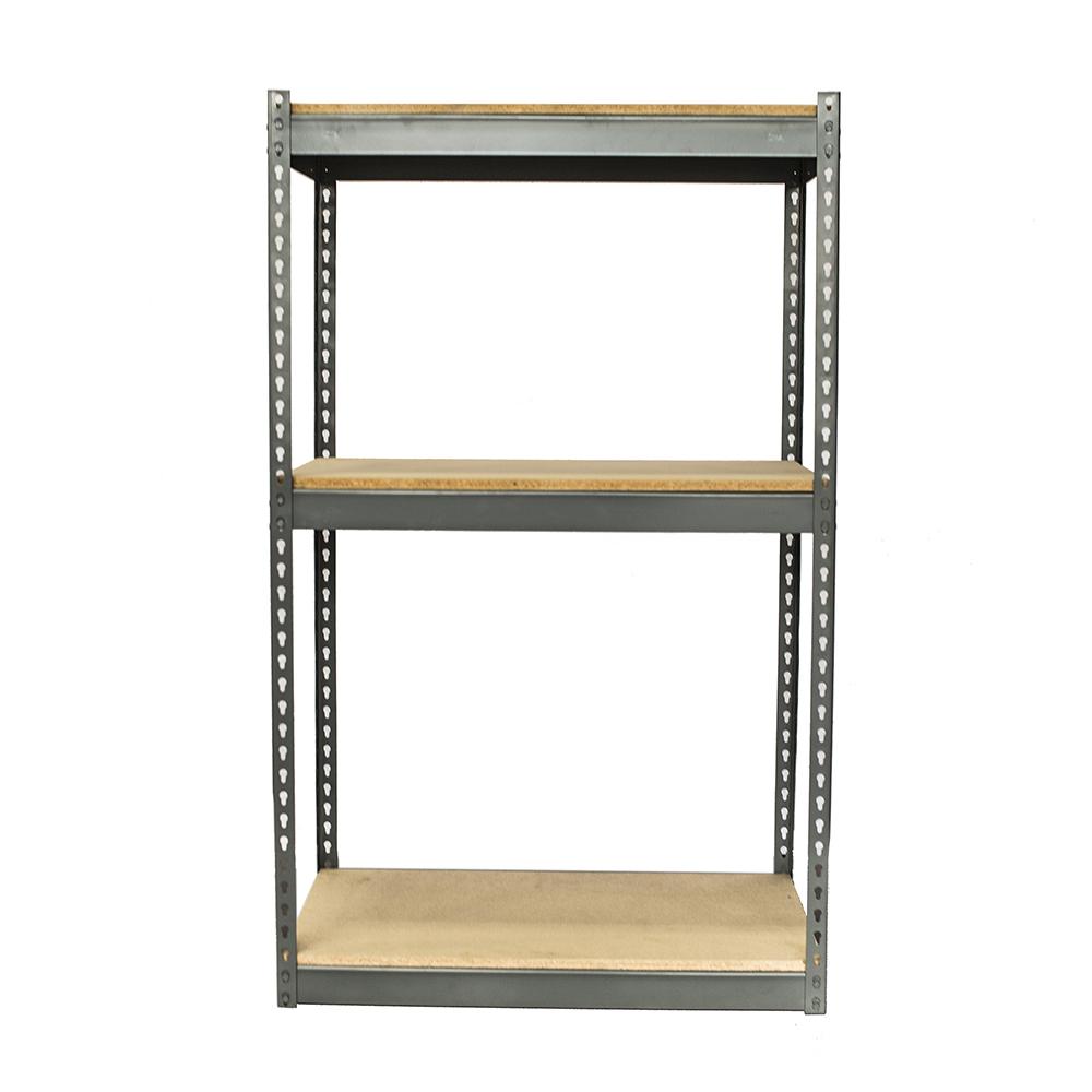 heavy duty boltless shelving qmh inc. Black Bedroom Furniture Sets. Home Design Ideas